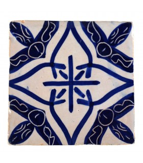 Al-Andalus - 10 cm - several designs - handcrafted tile - model 23