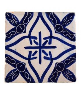 Al-Andalus - carreaux faits à la main 10 cm - plusieurs motifs - - modèle 23