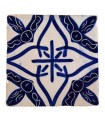 Al-Andalus - 10 cm - several designs - handcrafted tile - model 23
