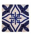 Azulejo Andalusí - 10 cm - Varios Diseños- Artesanal- Modelo 23