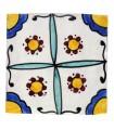 Azulejo Andalusí - 10 cm - Varios Diseños- Artesanal- Modelo 25