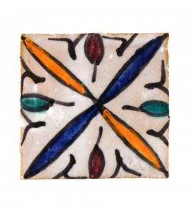 Al-Andalus - 10 cm - several designs - handcrafted tile - model 26