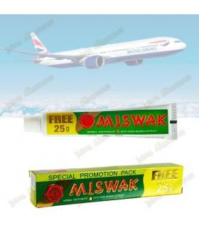 Mini Miswak viagem de pasta de dentes Natural - Salvadora Persica 30 + 15 gr