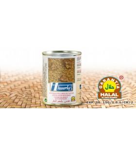 Lentilhas com carne de bovino - garantia Halal - 415 g