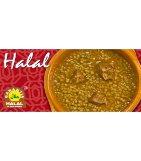 Lentilles au boeuf - garantie Halal - 415 g