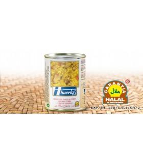 Riso con pollo al curry - garanzia Halal - 415 g