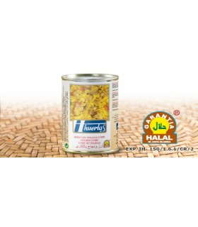 Riz au poulet au curry - garantie Halal - 415 g