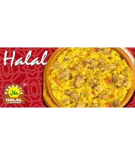 Arroz com frango ao curry - garantia Halal - 415 g