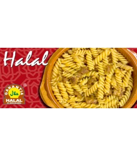 Pasta with beef - guarantee Halal - 415 g