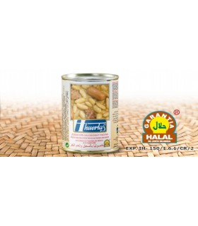 Beans with sausages and beef - beef warranty - 415 g