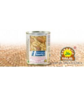Feijão com salsichas e carne - carne garantia - 415 g