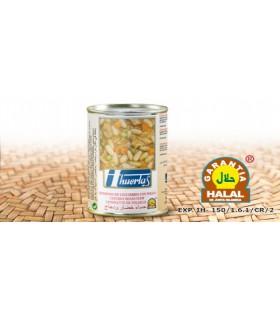 Ensopado de legumes com frango - garantia Halal - 415 g