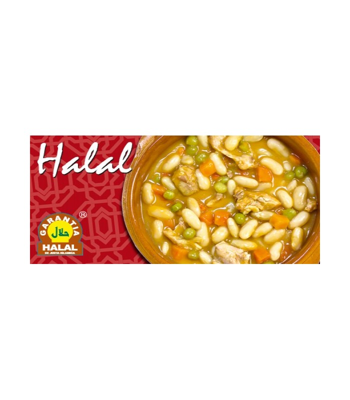 Vegetable stew with chicken - guarantee Halal - 415 g