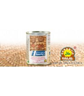 Garbanzos Con Cordero - Garantía Halal - 415 g