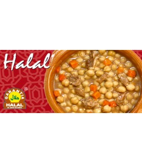 Chickpeas with lamb - guarantee Halal - 415 g