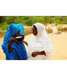 "Tela Mauritana - ""Malefa"" - Tintadas A Mano - Limitadas - Varios Colores"