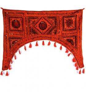 Tapis de décoration bow - artisan - 100 x 75 cm-différentes couleurs