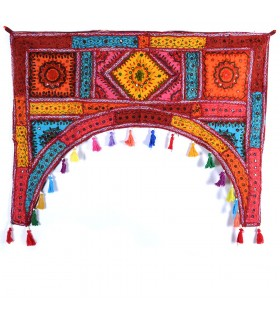 Tapete Decoración Arco - Artesanal - 100 x 75 cm-Varios Colores