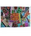 Mat Pathwork Deluxe - 150 x 100 cm - artesão - várias cores