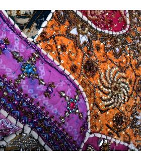Tapis Pathwork Deluxe - 150 x 100 cm - artisan - différentes couleurs