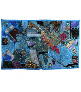 Stuoia Pathwork Deluxe - 150 x 100 cm - artigiano - vari colori