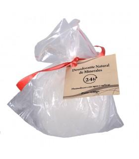 Deodorante allume roccia minerale naturale - crudo - cristallo