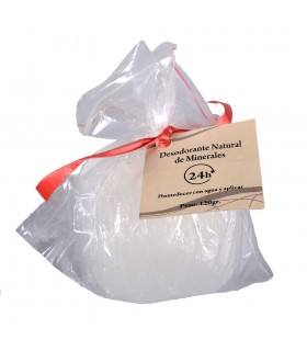 Desodorante Alumbre Cristal Roca - Bruto - Minerales Naturales