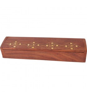 Red Wood Pencilbox - Incense Box