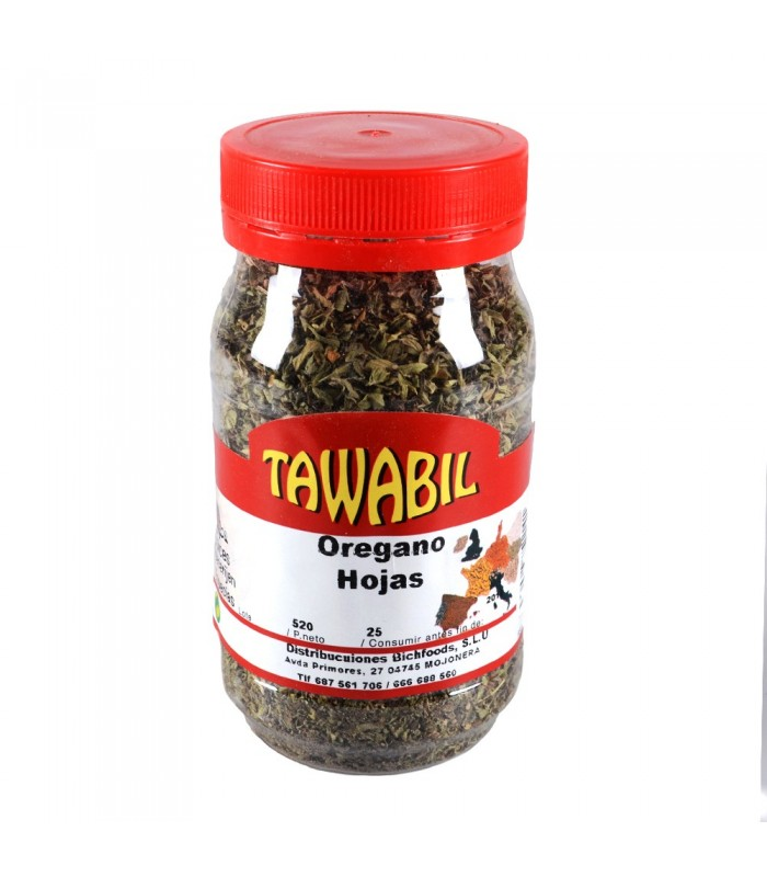Oregano en Hoja - Especias Arabes - Bote 30 gr