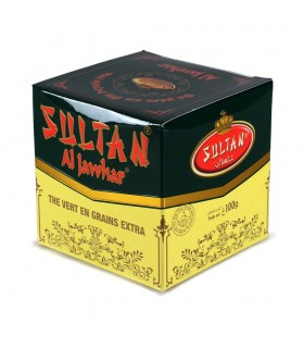 Té Verde - Sultan Al Jawhar - Calidad Supreme - Grano Extra - 100 o 200 g