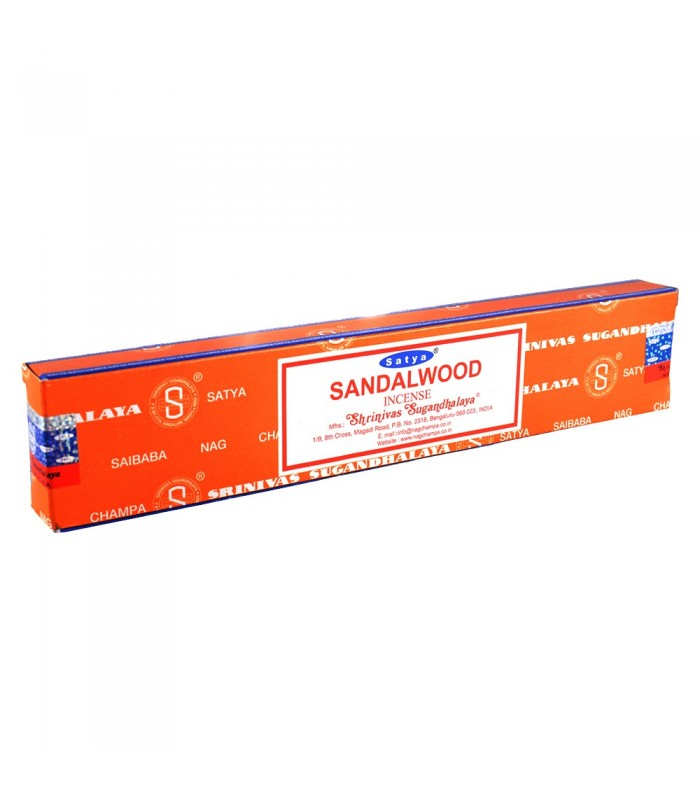 Incense Sandalwood - SATYA - New line - NOVEDAD