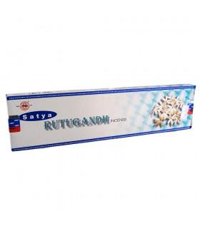 Incenso jasmim Rutugandh - SATYA - 30 gr