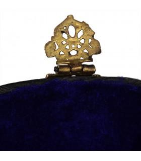 Sacchetto di ottone - fatto a mano - catena e chiusura