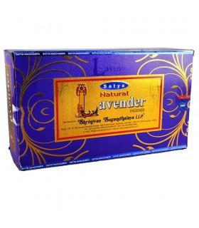 Nouveauté - lavande - Satya Natural - nouvelle gamme d'odeurs - de l'encens