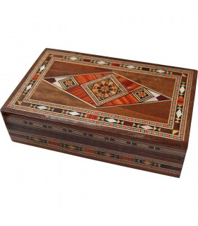 Rectangular - Syria - velvet inlaid box