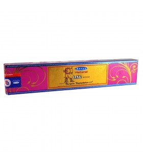 Incense - Rosa - Satya Natural - new range of smells - novelty - box 12 rods