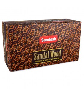 Sandalwood incense - Sandesh - incense Masala Premium - box 12 rods