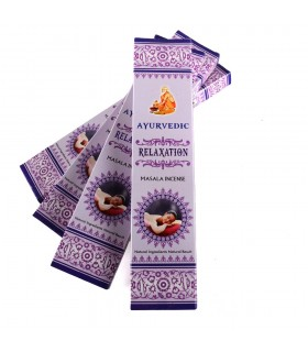 Masala - Ayurvedic - relaxation - incense box 15 rods