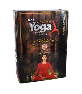 Tiges de boîte encens yoga - vie joyeuse - 22 g