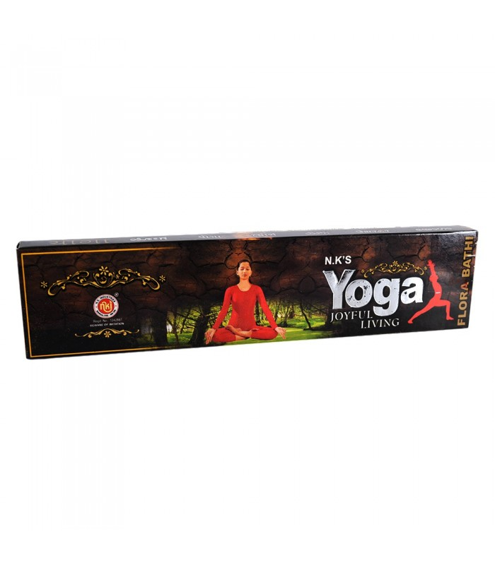Incienso Yoga - Vida Alegre - Cajita Varillas 22 g