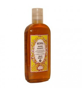 Champú De Henna - Colorante - Con Extractos Naturales De Henna Y Manzanilla - Cabello Rubio - Radhe Shyam- 250 ml