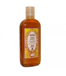 Shampoo Henna - coloring - natural Henna and Chamomile extracts - hair blond - Radhe Shyam - 250 ml