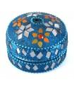 Bright Round Box - Velvet Interior - Assorted Colors