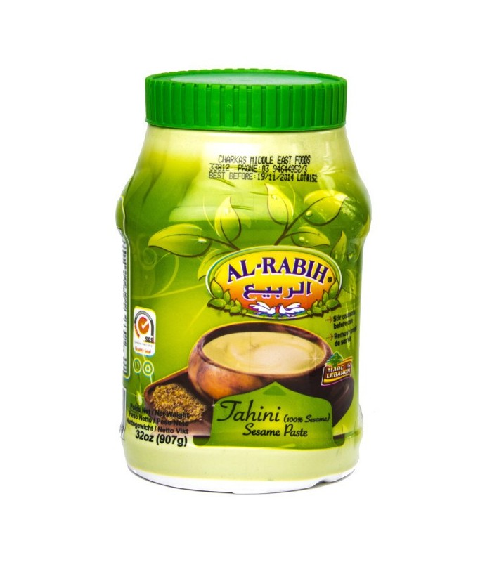Crema de Tahini Al-Rabih- 100% Sésamo - 800 gr - Comida Oriental