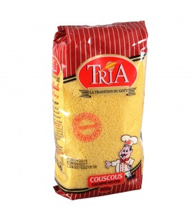 Cus Cus TRIA 1000 gr -  Sémola de Trigo - Cous Cous - Kus Kus