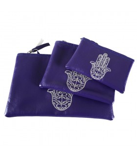 Game multipurpose 3 portfolios - hand of Fatima - purse - bag - various colors