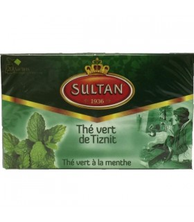 Green tea with Hierbabbuena of Tiznit - SULTAN - bags of tea - 20 teabags