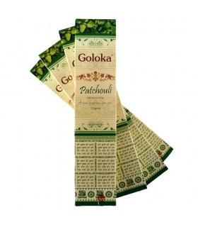 Incenso de primeira qualidade Goloka Patchouli - 15 gr-