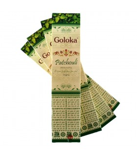 Incienso Goloka Patchouli - 15 gr - Primera Calidad