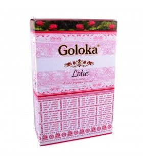 Räucherstäbchen Goloka Blume des Lotus - 15 Gr - erste Qualität